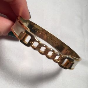 Jewelry - BCBG Gold and ivory cuff